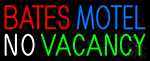 Bates Motel No Vacancy Neon Sign