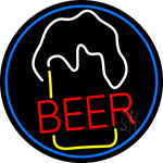 Beer Glass LED Neon Sign