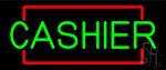 Block Cashier LED Neon Sign