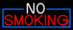 Block No Smoking LED Neon Sign