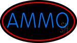 Blue Ammo LED Neon Sign