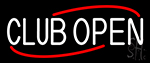 Club Open Neon Sign