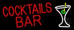 Cocktails Bar Neon Sign