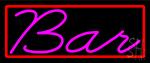 Cursive Bar LED Neon Sign