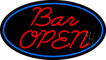Cursive Bar Open LED Neon Sign