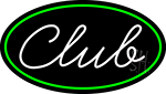 Cursive Club Neon Sign