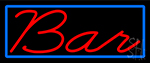 Cursive Red Bar LED Neon Sign