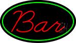 Cursive Red Bar LED Neon Sign