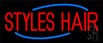 Deco Styles Hair Neon Sign