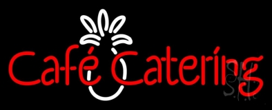 Cafe Catering LED Neon Sign