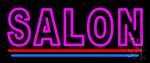 Double Stroke Salon LED Neon Sign