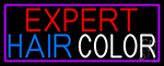 Expert Hair Color Neon Sign