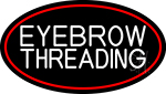 Eyebrow Threading Neon Sign