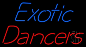 Exotic Dancers LED Neon Sign