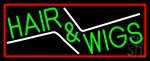 Green Hair And Wigs LED Neon Sign