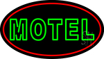 Green Motel Neon Sign