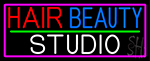 Hair Beauty Studio Neon Sign