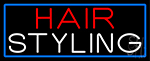 Hair Styling Neon Sign