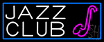 Jazz Club With Saxophone Neon Sign