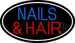 Nails And Hair Neon Sign