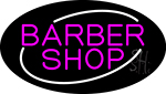 Pink Barber Shop Neon Sign
