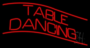 Table Dancing LED Neon Sign