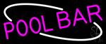 Pink Pool Bar Neon Sign