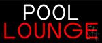 Pool Lounge Neon Sign