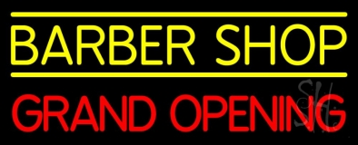 Barber Shop Grand Opening LED Neon Sign