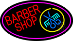 Red Barber Shop Neon Sign