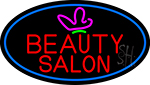 Red Beauty Salon Logo Neon Sign
