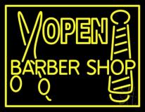 Barber Shop Open LED Neon Sign