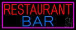 Restaurant Bar LED Neon Sign