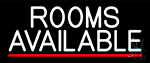 Rooms Available Vacancy LED Neon Sign