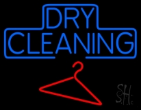 Block Dry Cleaning LED Neon Sign