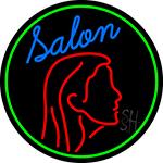 Salon Logo LED Neon Sign