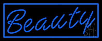 Blue Beauty LED Neon Sign