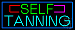 Self Tanning LED Neon Sign