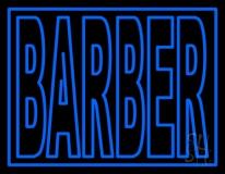 Double Stroke Barber LED Neon Sign