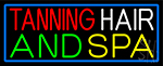 Tanning Hair And Spa LED Neon Sign