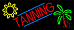 Tanning With Logo LED Neon Sign