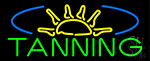 Tanning With Sun Rays LED Neon Sign
