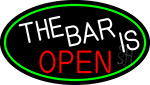 The Bar Is Open LED Neon Sign