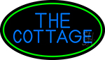 The Cottage With Green Border Neon Sign