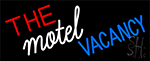 The Motel Vacancy LED Neon Sign