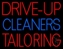 Drive Up Cleaners Tailoring LED Neon Sign