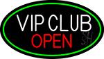 Vip Club Open Neon Sign