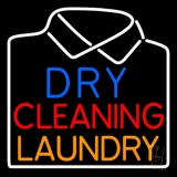 Dry Cleaning Laundry LED Neon Sign