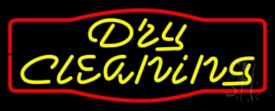 Dry Cleaning LED Neon Sign
