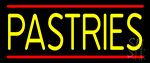 Yellow Pastries LED Neon Sign